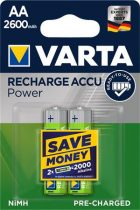"""VARTA Tölthető elem, AA ceruza, 2x2600 mAh, előtöltött, VARTA """"Power"""""""