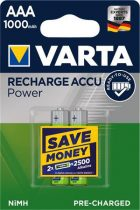 """VARTA Tölthető elem, AAA mikro, 2x1000 mAh, előtöltött, VARTA """"Power"""""""