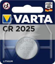 VARTA Gombelem, CR2025, 1 db, VARTA
