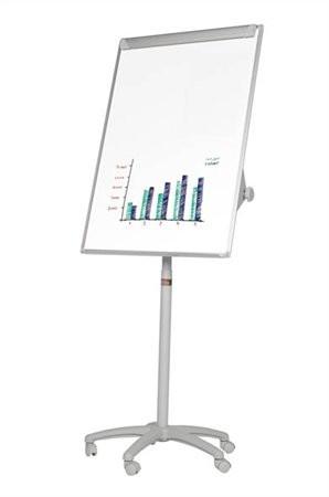VICTORIA Flipchart tábla, mágneses felület, 70x100 cm, mobil,  VICTORIA
