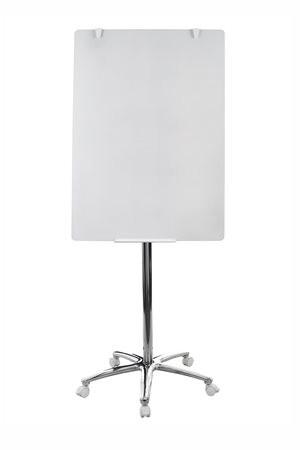 VICTORIA Flipchart üvegtábla, mobil, 75,5 × 106,5 cm, VICTORIA