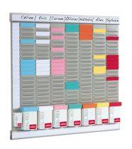 "NOBO T-kártya tervező kit, NOBO ""Office planner"""
