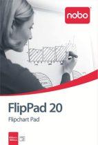 NOBO Flipchart papír, 650X955mm, 20 lap, NOBO