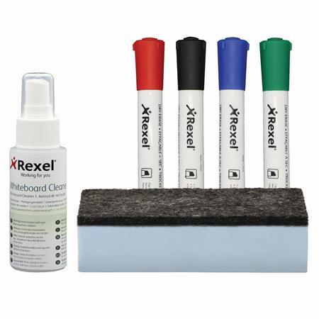 """REXEL Kezdőkészlet   fehértáblákhoz REXEL """"Quartet"""""""