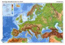 """STIEFEL Tanulói munkalap, A4, STIEFEL """"Európa domborzata/ Az Európai Unió"""""""