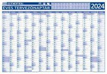 STIEFEL Éves tervező és projekt naptár, kétoldalas, fémléces, 70x100 cm, 2020 évi, STIEFEL