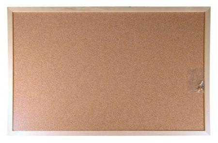 VICTORIA Parafatábla, kétoldalas, 60x90 cm, fa keret, VICTORIA