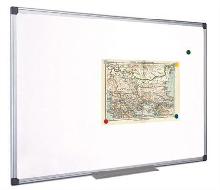 VICTORIA Fehértábla, mágneses, 45x60 cm, alumínium keret, VICTORIA