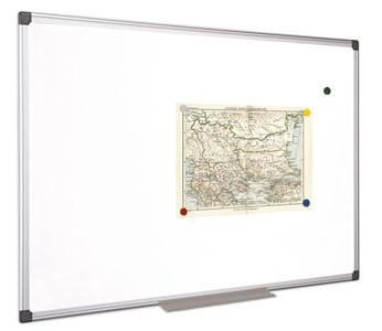 VICTORIA Fehértábla, mágneses, 60x90 cm, alumínium keret, VICTORIA