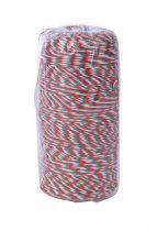 VICTORIA Kötözőzsineg, nemzeti színű, pamut, 200m, VICTORIA