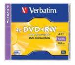 Újraírható DVD+RW lemezek
